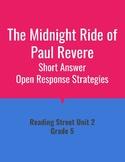 The Midnight Ride of Paul Revere Open Response Strategies