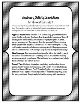 The Midnight Ride of Paul Revere Vocabulary Games and Activities Unit 2, Story 5