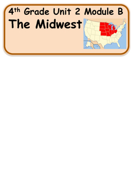 ReadyGen The Midwest Vocabulary 4th grade Unit 2 Module B
