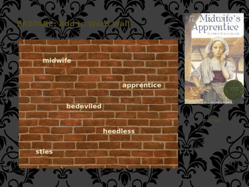 The Midwife's Apprentice: Structured PP Slides for Literature Circle