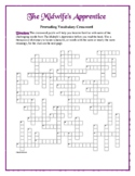 The Midwife's Apprentice: 50-Word Prereading Crossword—Great Warm-Up!