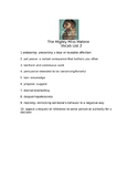 The Mighty Miss Malone Vocab Terms w/ quiz List 2