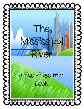 The Mighty Mississippi River Mini Book