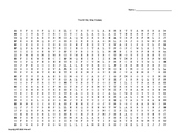 The Milky Way Galaxy Vocabulary Word Search for Astronomy Students
