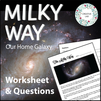 The Milky Way - Worksheet & Questions