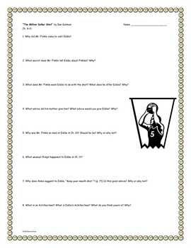 """""""The Million Dollar Shot"""", by D. Gutman, Comprehension Questions"""