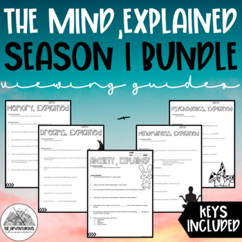 The Mind, Explained Viewing Guide Bundle