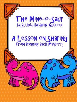 The Mine-o-Saur: A Sharing Lesson Pack