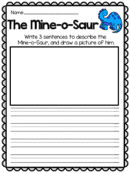 The Mine-o-Saur {Reading Response}