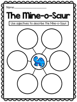 The Mine-o-Saur {Reading Response}
