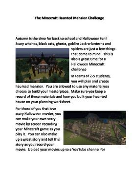 The Minecraft Haunted Mansion Challenge