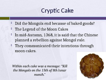 The Ming Dynasty (Interactive Powerpoint Notes)