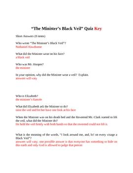 The Minister's Black Veil Quiz