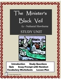 THE MINISTER'S BLACK VEIL  Study Questions, Quiz, Lesson Plan