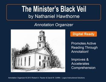"""The Minister's Black Veil"" by Nathaniel Hawthorne: Annotation Organizer"