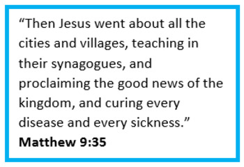 The Ministries of Jesus: Discover Jesus as Teacher, Preacher, and Healer!