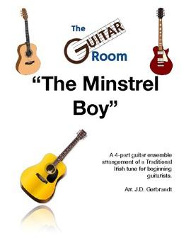 "GUITAR ENSEMBLE: ""The Minstrel Boy"" - Traditional Irish"