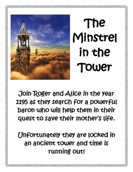 The Minstrel In The Tower Book Report and Lapbook