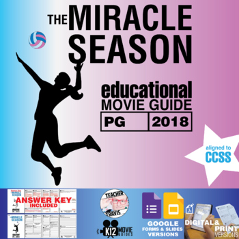 The Miracle Season Movie Guide Questions Worksheet Pg 2018