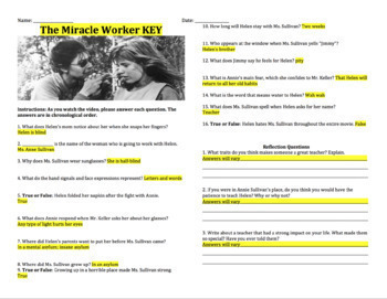The Miracle Worker - Movie Guide