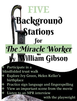The Miracle Worker Station Activity