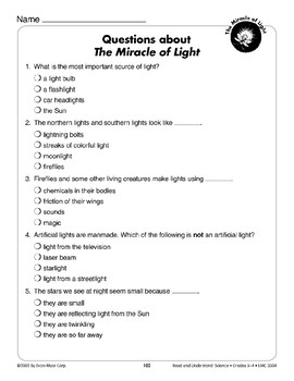 The Miracle of Light (Physical Science/Light)