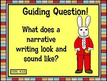 The Miraculous Journey of Edward Tulane Narrative Writing Task Presentation