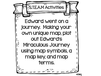 The Miraculous Journey of Edward Tulane...12 S.T.E.A.M Activities