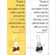 Book Quote Bookmark - The Miraculous Journey of Edward Tulane -Color and B/W
