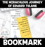 The Miraculous Journey of Edward Tulane Novel Study Bookmark