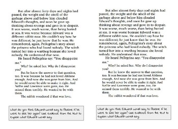 The Miraculous Journey of Edward Tulane Close Reading