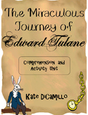 The Miraculous Journey of Edward Tulane Comprehension Packet