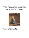 The Miraculous Journey of Edward Tulane - Comprehension Test