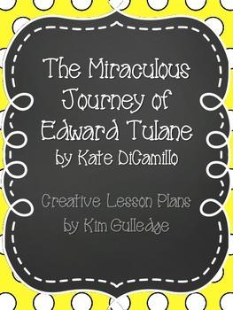 The Miraculous Journey of Edward Tulane Creativity Unit - Gifted Students