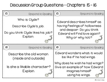 The Miraculous Journey of Edward Tulane Discussion Group Questions