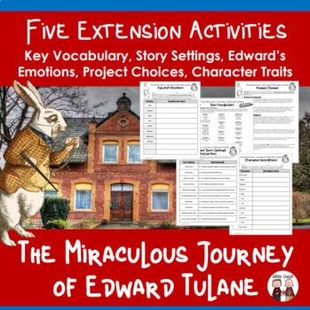 The Miraculous Journey of Edward Tulane Extension Activities