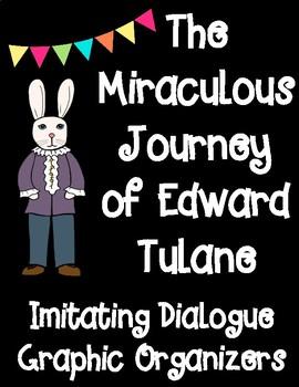 The Miraculous Journey of Edward Tulane Imitating Dialogue Graphic Organizers
