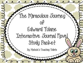 The Miraculous Journey of Edward Tulane Interactive Journa