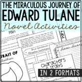 THE MIRACULOUS JOURNEY OF EDWARD TULANE Novel Study Unit Activities, Book Report