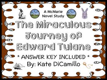 The Miraculous Journey of Edward Tulane (Kate DiCamillo) Novel Study  (40 pages)