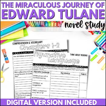 The Miraculous Journey of Edward Tulane Novel Study