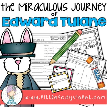 The Miraculous Journey of Edward Tulane Novel Study Unit