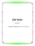 Old Yeller Novel Unit Plus Grammar
