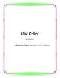 Old Yeller Novel Unit Plus Grammar
