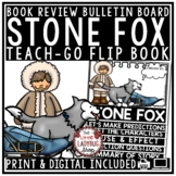 Stone Fox Novel Study Flip Book Review Template for Book Club  Literature Circle