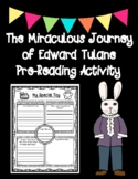 The Miraculous Journey of Edward Tulane Pre-Reading Activity