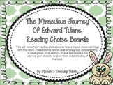 The Miraculous Journey of Edward Tulane Reading Choice Boards