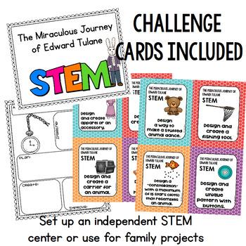 The Miraculous Journey of Edward Tulane STEM Challenges - Novel STEM Activities