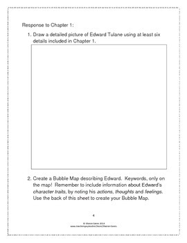 The Miraculous Journey of Edward Tulane Student Study Guide/Novel Study