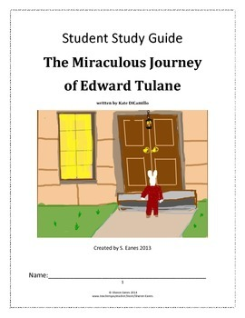The Miraculous Journey of Edward Tulane Student Study Guid